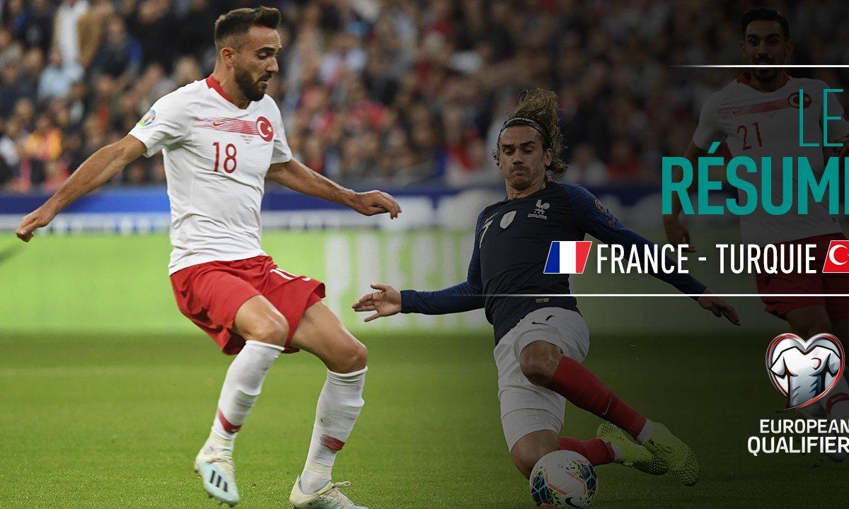 France - Turquie : Voir le résumé du match en vidéo