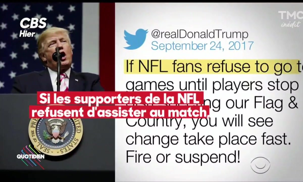 Retour de balle pour Trump