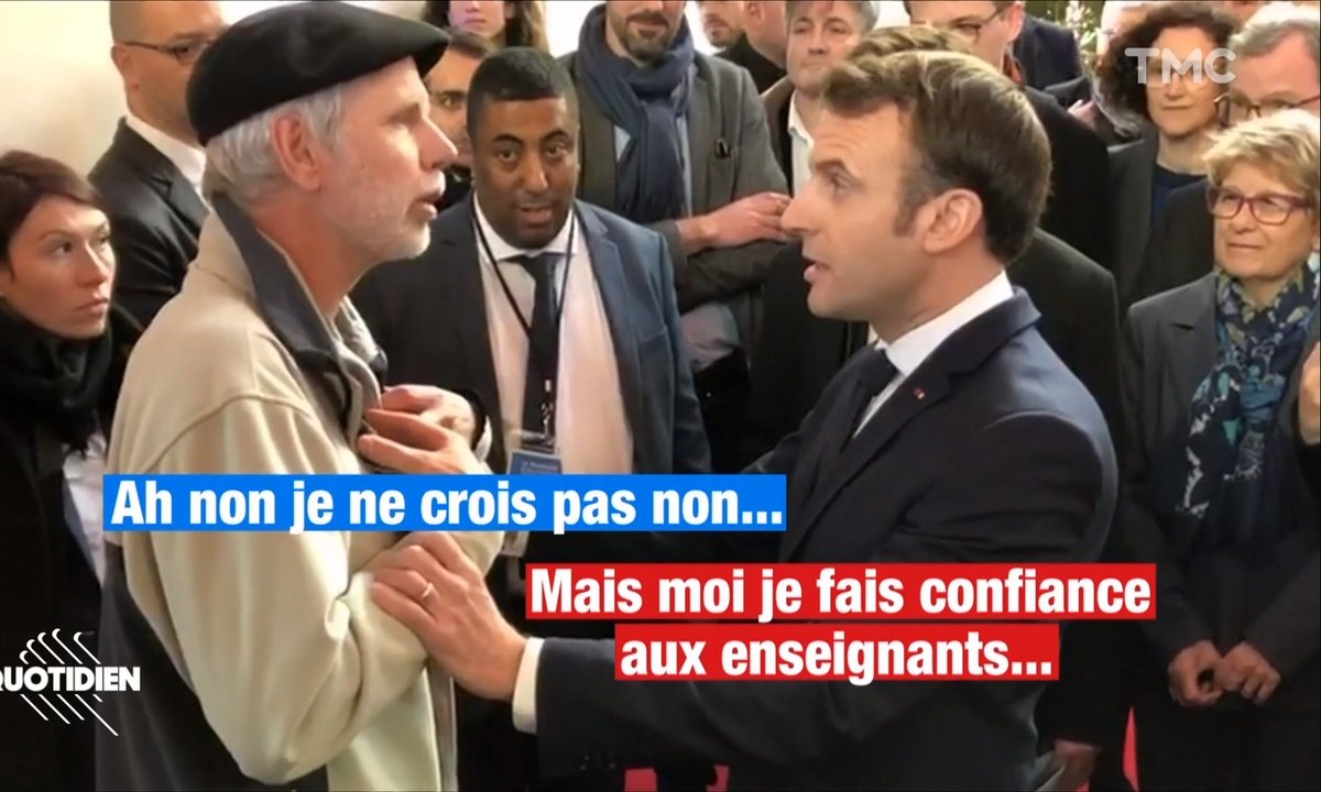 Retraites: Emmanuel Macron chahuté à Pau