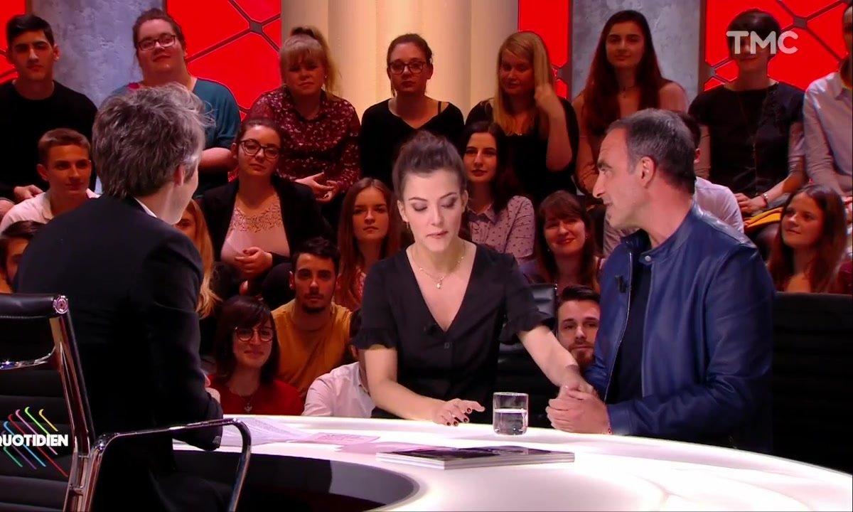 Les retrouvailles de Camille Lellouche et Nikos Aliagas