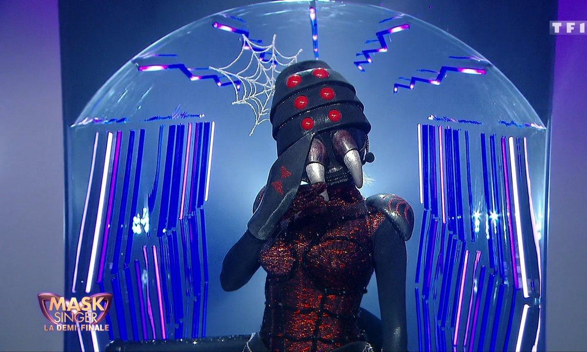 Révélation - Qui se cache derrière le masque d'Araignée dans Mask Singer ?