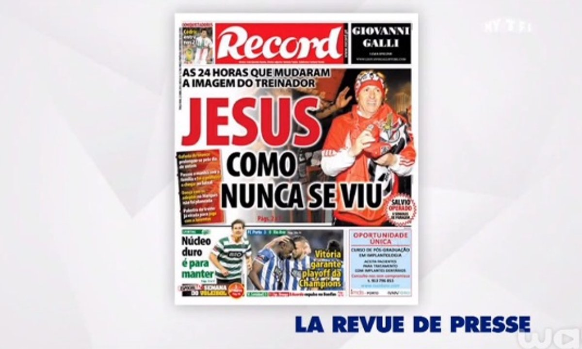 MyTELEFOOT – La revue de Presse du 27 avril 2014 de Romain Balland