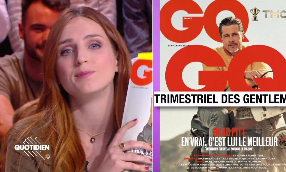 La revue de presse d'Alison Wheeler : Brad Pitt, virilité et séduction