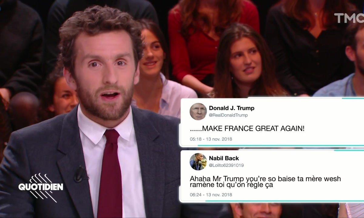 La revue de presse des haters : les gilets jaunes, Trump et les NRJ Music Awards (Pablo Mira)