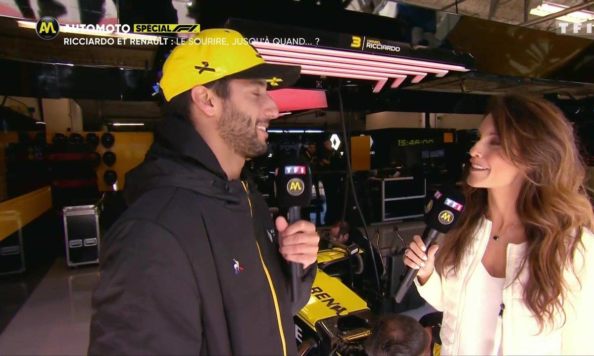 Ricciardo et Renault : le sourire, jusqu'à quand ?