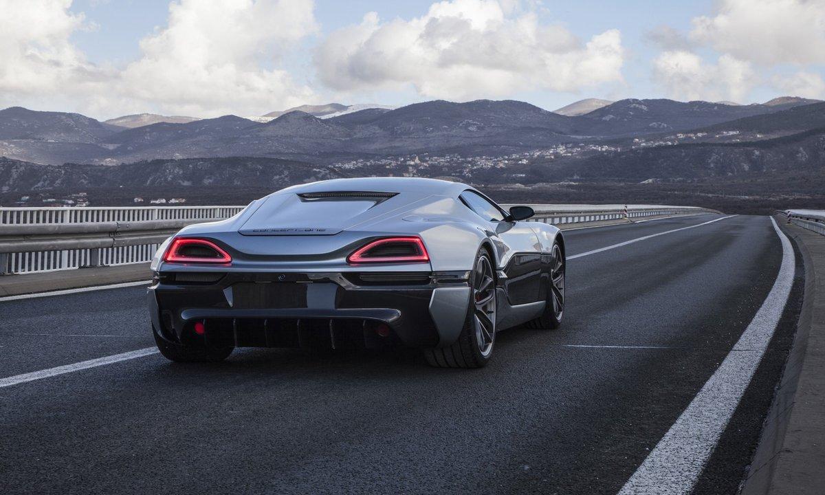Rimac Concept One : la supercar de série de 1.088 chevaux en vidéo