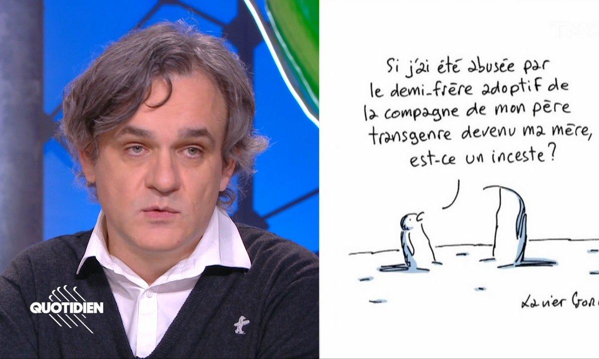 Riss, le patron de Charlie Hebdo, réagit à la polémique autour du dessin de Xavier Gorce