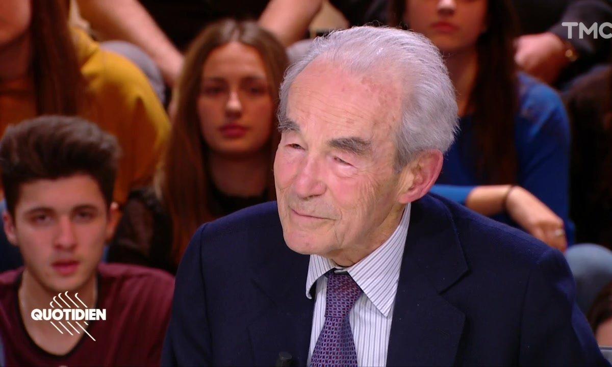 """Robert Badinter : """"Il faut réserver à l'humain la chance de devenir meilleur"""""""