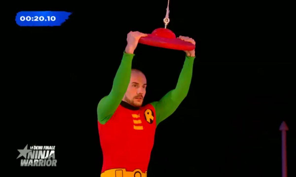"Avant-première : Jusqu'où ira ""Robin"" ce soir, dans la demi-finale de Ninja Warrior ?"