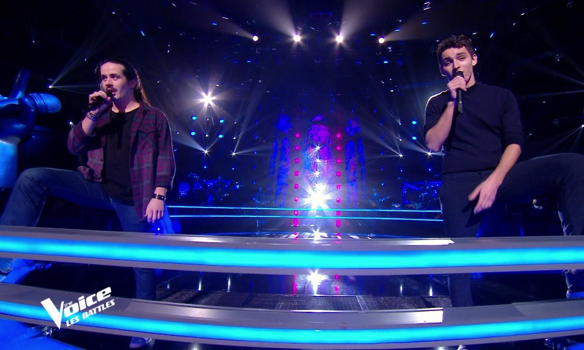 The Voice 2021 – Robin Baron VS Tarik chantent « Deviens génial » de Vald