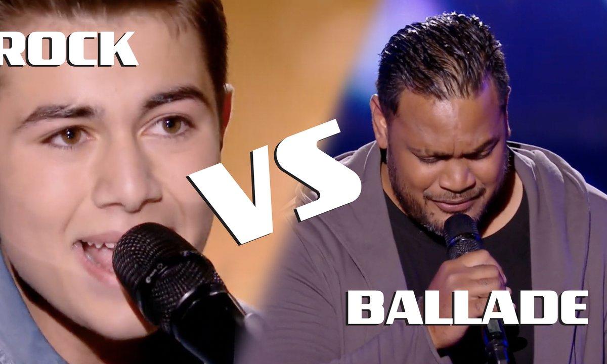 Le match des blinds : ROCK vs BALLADE ?