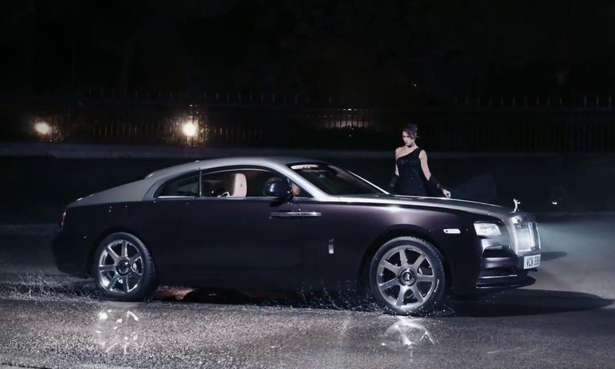 Rolls-Royce Wraith : vidéo de présentation officielle