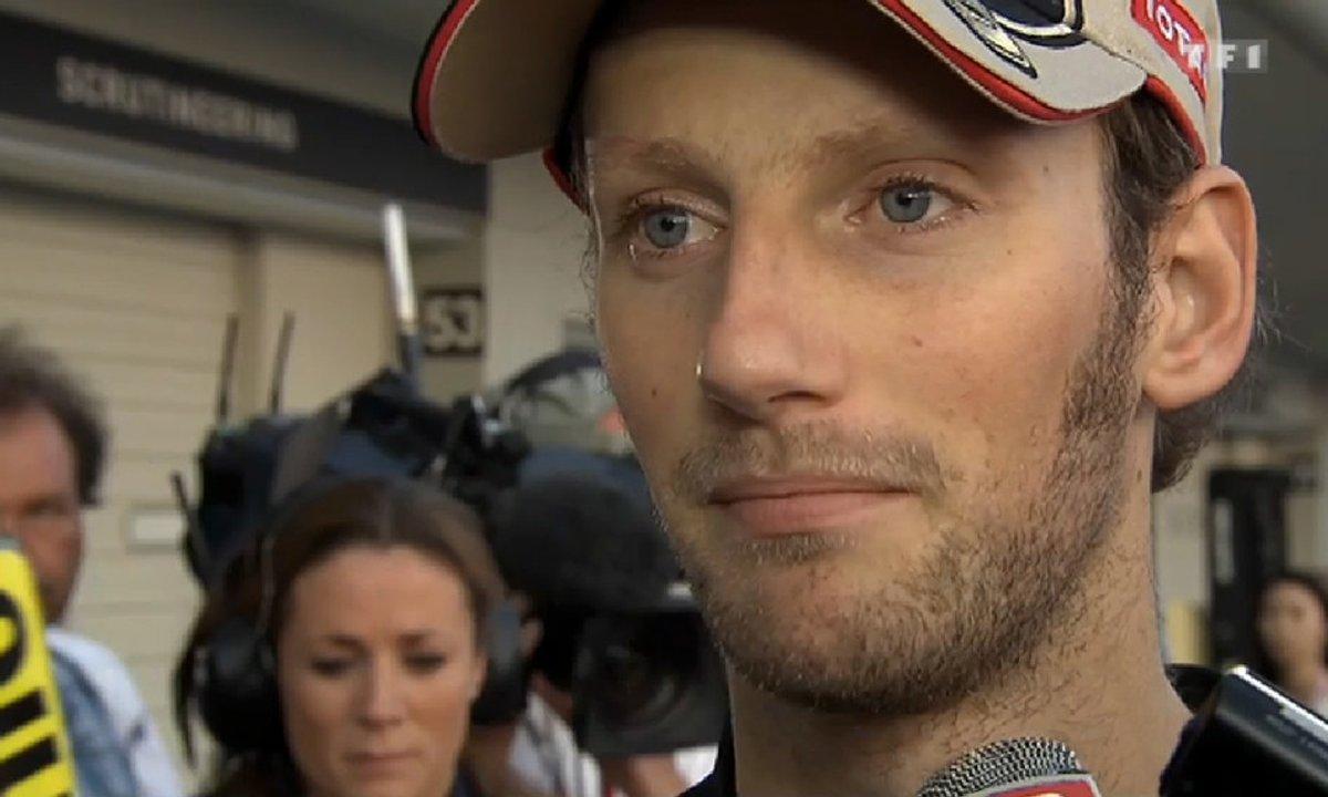 Grosjean revient sur son accident : «Piégé par la situation »