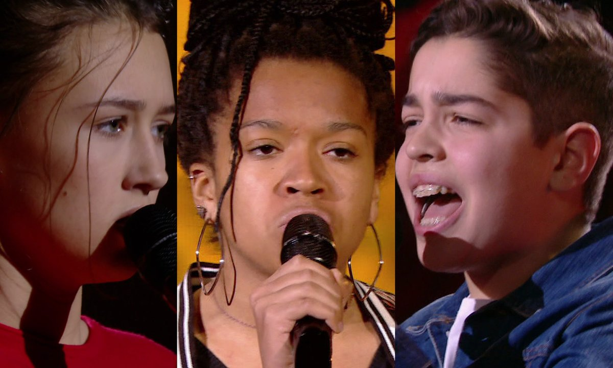 Romane VS Fannie VS Enzo « Feeling good » de Nina Simone (Team Soprano)