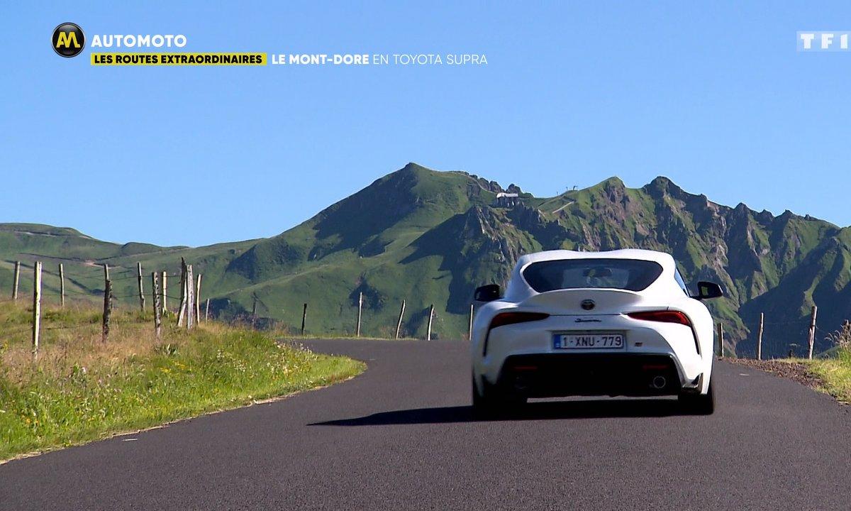 Les Routes Extraordinaires : le Mont-Dore en Toyota Supra