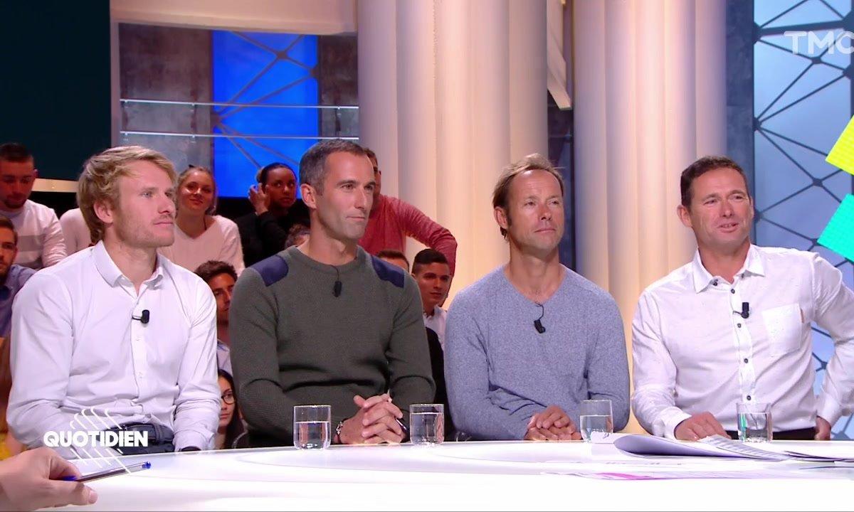 Invités : la route du Rhum avec Armel Le Cléac'h, François Gabart, Thomas Coville et Sébastien Josse