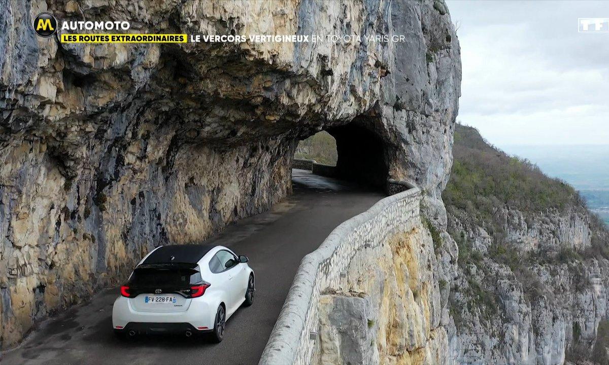 Routes Extraordinaires : la Route du Vertige en Toyota Yaris GR