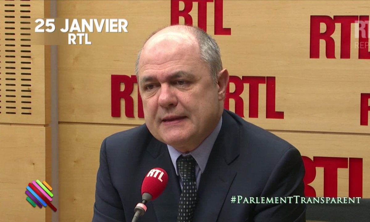 *Bruno Le Roux, janvier 2017 : ce serait plus clair qu'il n'y ait pas de conjoint qui travaille avec les députés