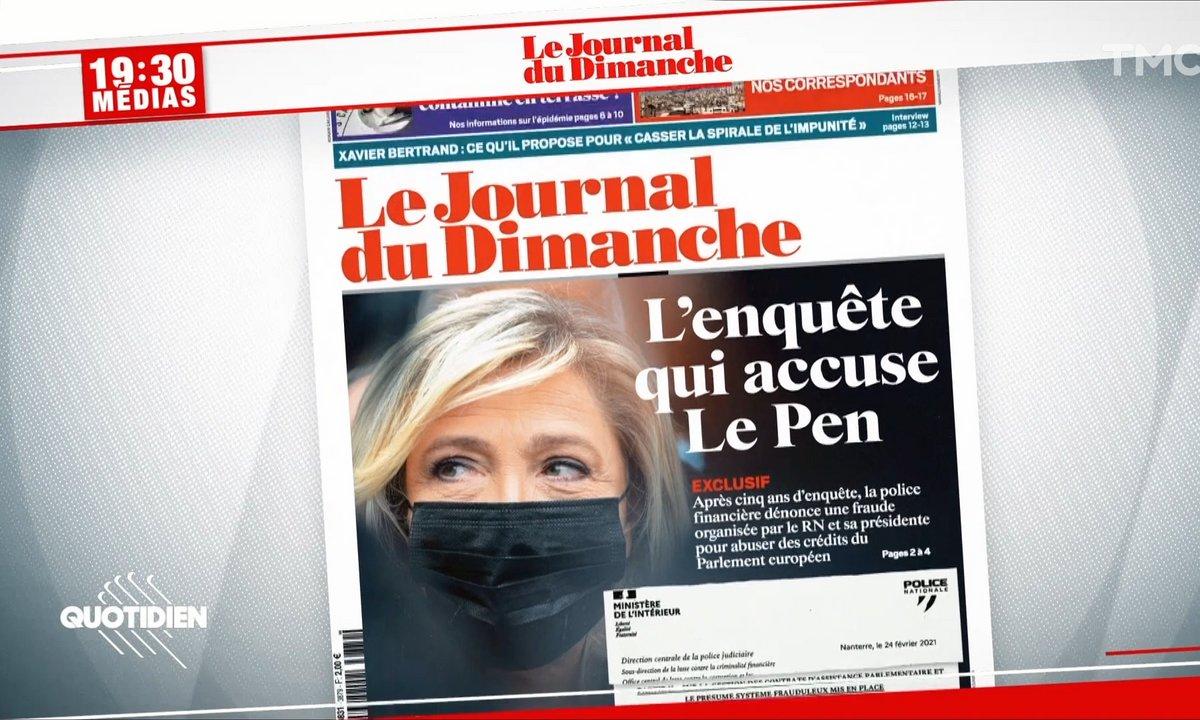 Détournement de fonds : Marine Le Pen et 17 membres du RN mis en cause