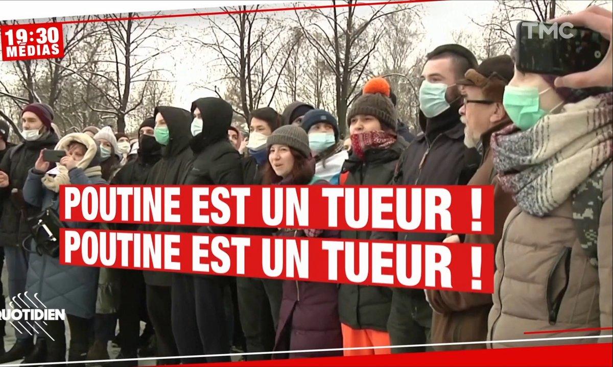 Russie: 5000 personnes arrêtées après des manifestations en soutien à Alexeï Navalny