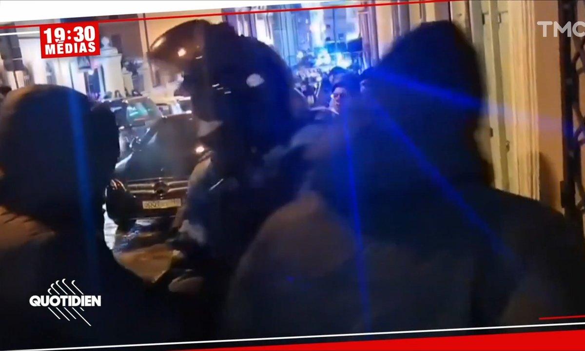 Russie: des policiers en civil se font passer pour des manifestants violents