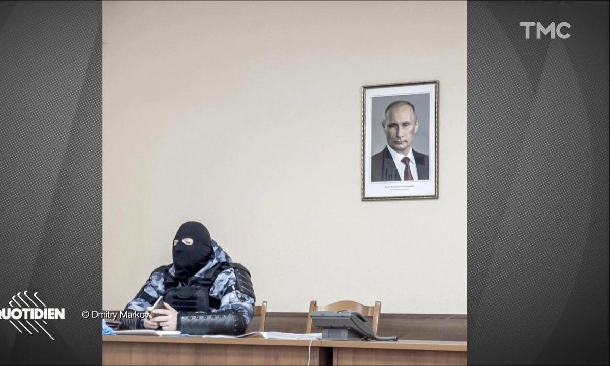 Russie: la photo symbole de la protestation en soutien à Alexeï Navalny