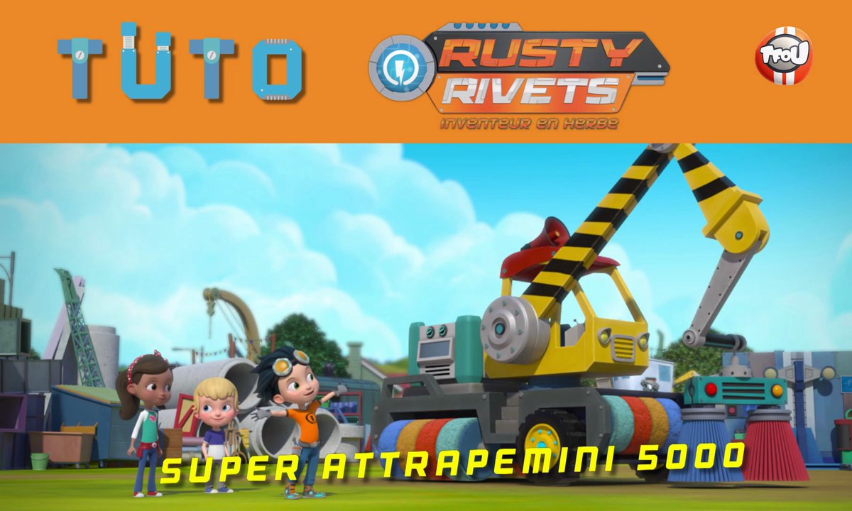 Les tutos de Rusty Rivets : Le Super Attrapemini 5000 !