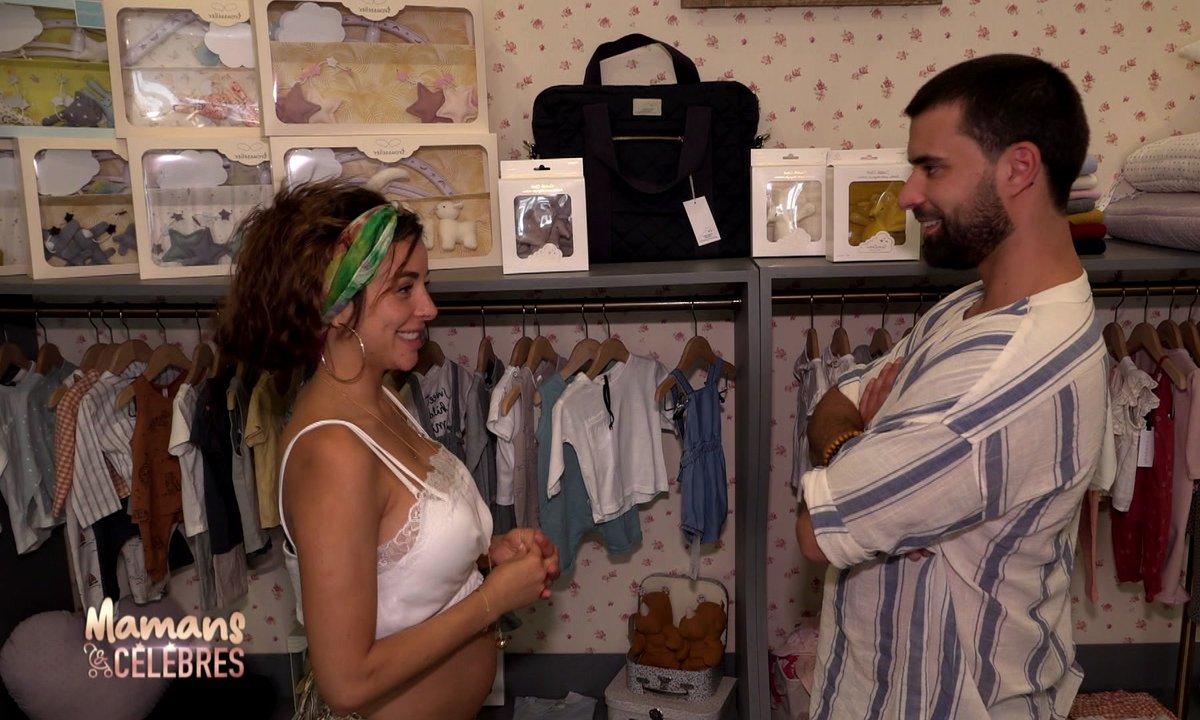 Premier shopping pour bébé : Rym et Vincent sont sur un petit nuage