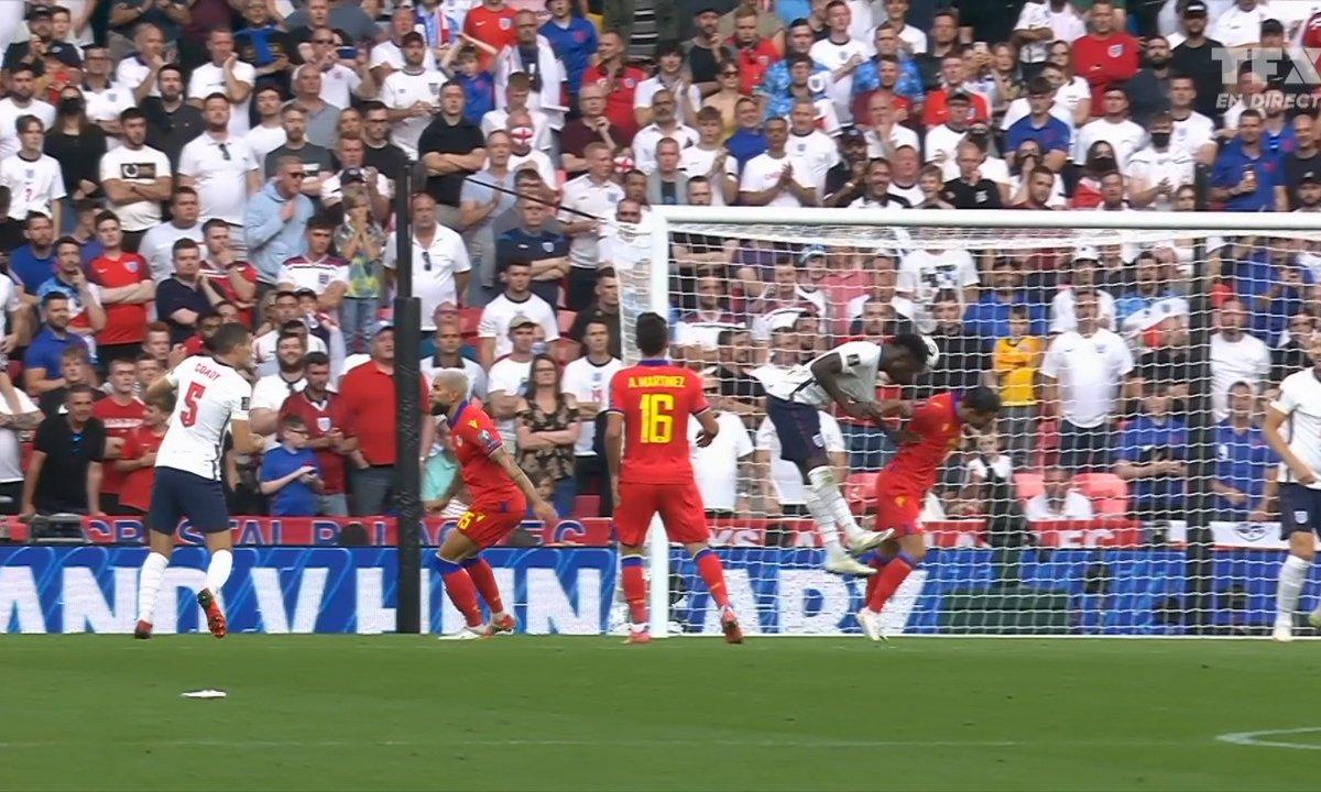 Angleterre - Andorre (4 - 0) : Voir le but de Saka en vidéo