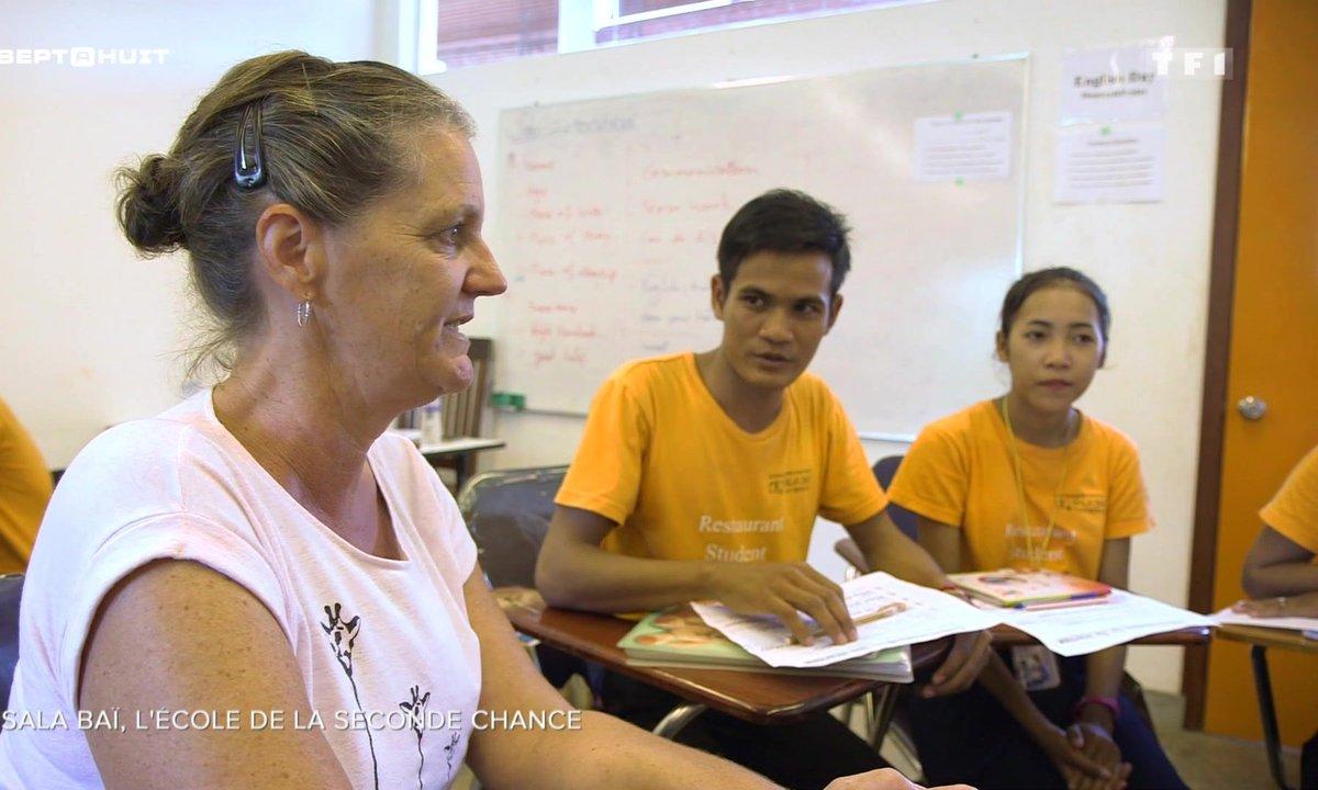 Sala Baï, l'école de la seconde chance au Cambodge