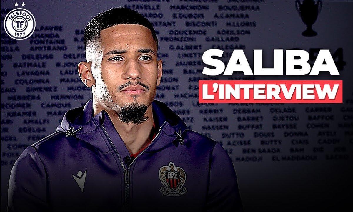 """""""J'aurais voulu avoir ma chance à Arsenal"""" : l'interview de William Saliba"""