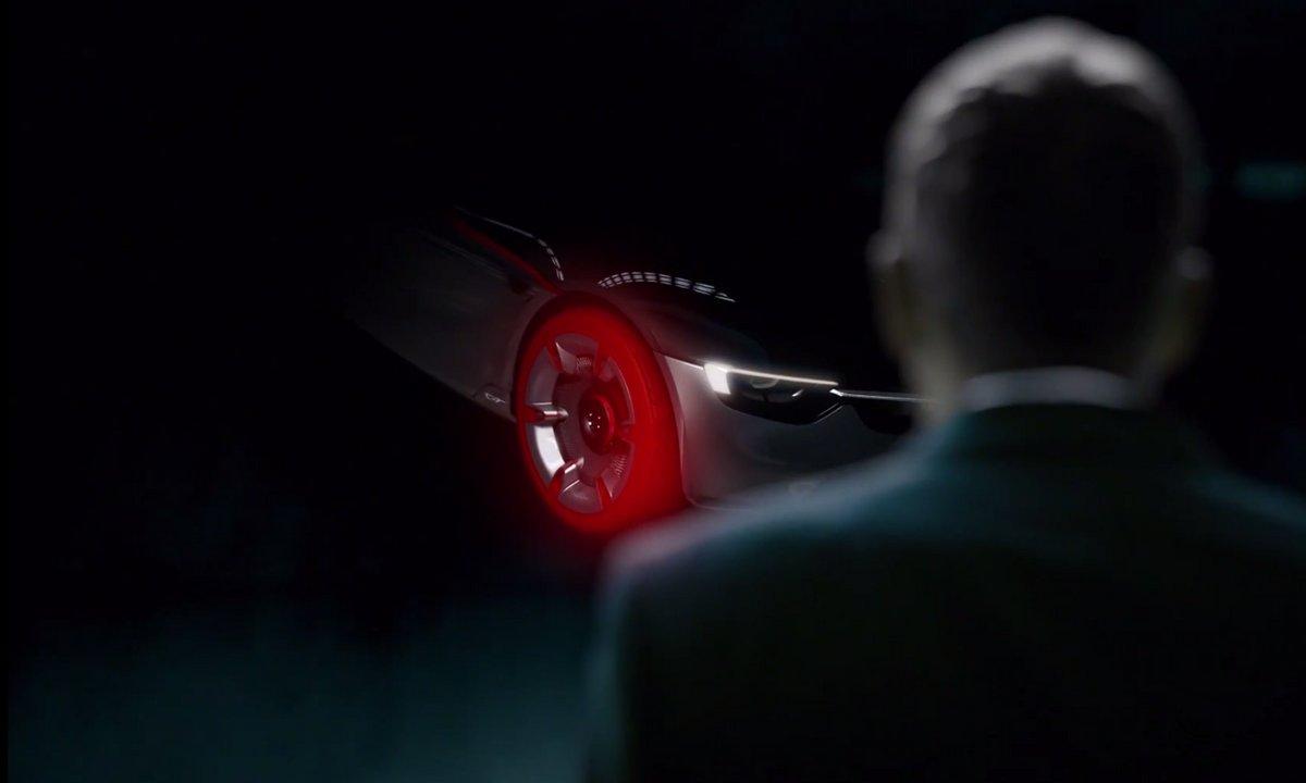 Opel GT Concept 2016 : Le teaser avant le salon de Genève