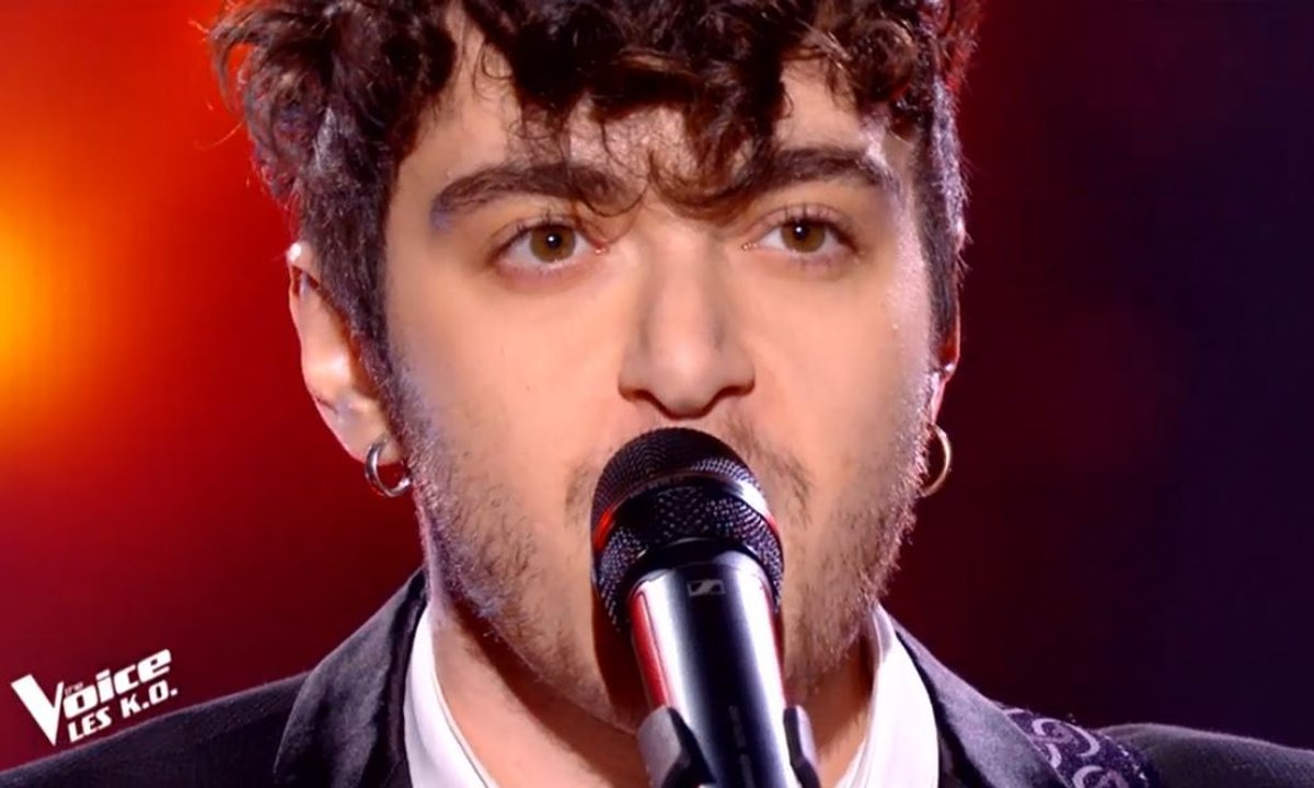 "THE VOICE 2020 - Sam Tallet chante ""L'opportuniste"" de Jacques Dutronc (KO)"