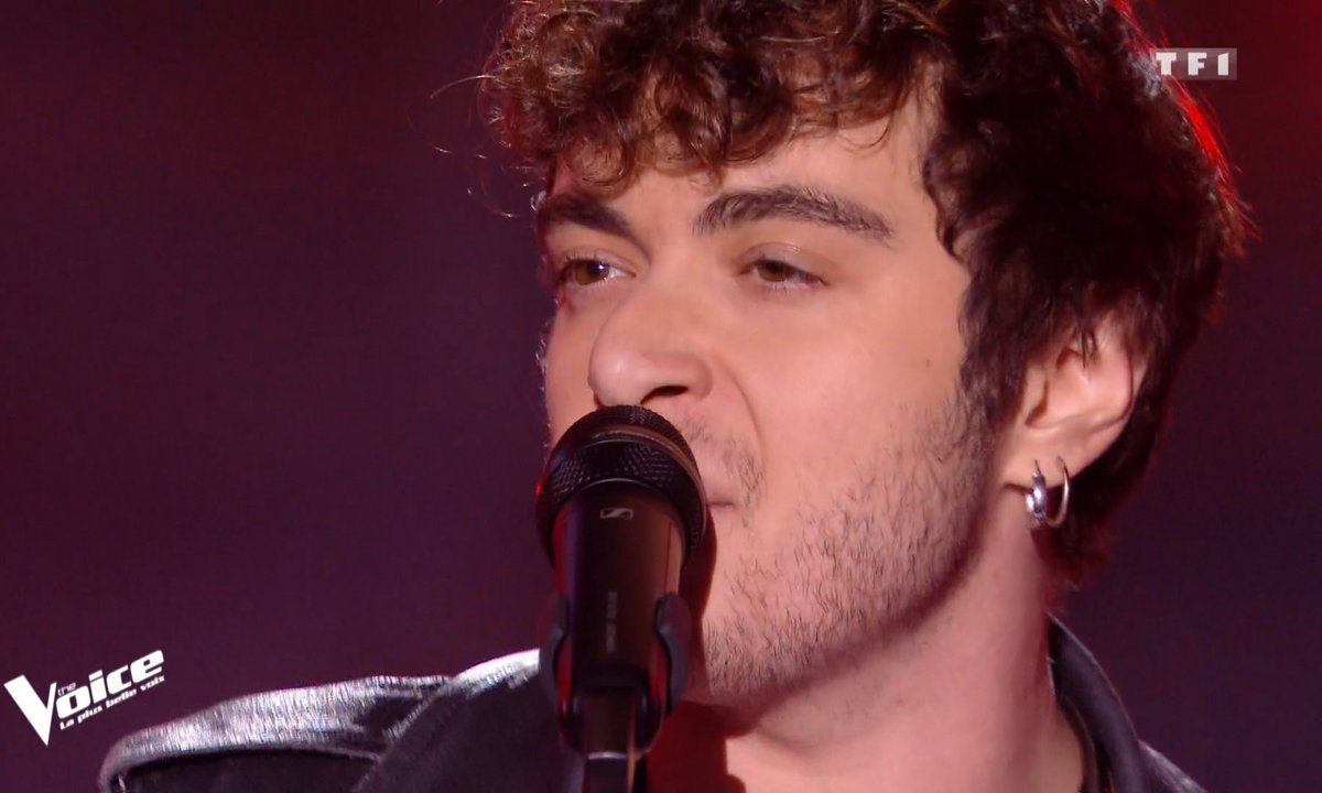 """THE VOICE 2020 - Sam Tallet chante """"With a little help from my friends"""" de The Beatles"""