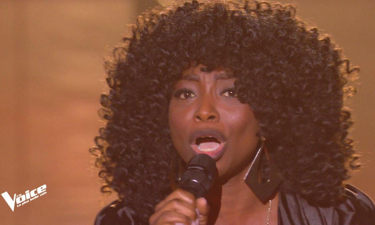 """The Voice 2021 - Sandraline chante """"River"""" de Bishop Briggs"""