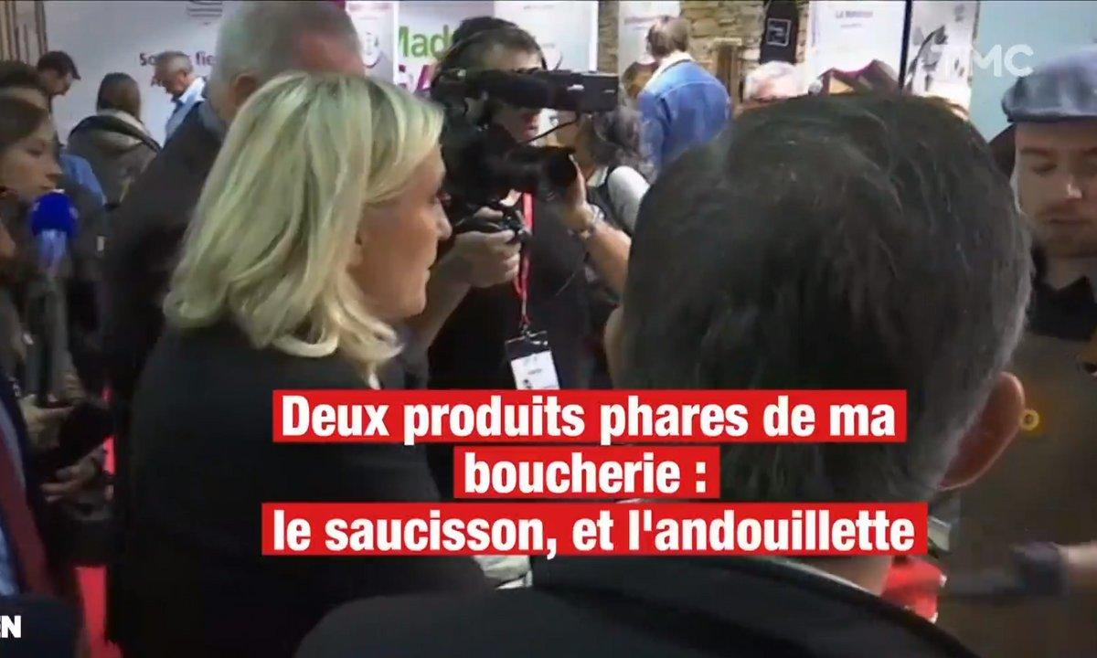 Saurez-vous trouver les messages cachés de Marine Le Pen au Salon Made in France ?