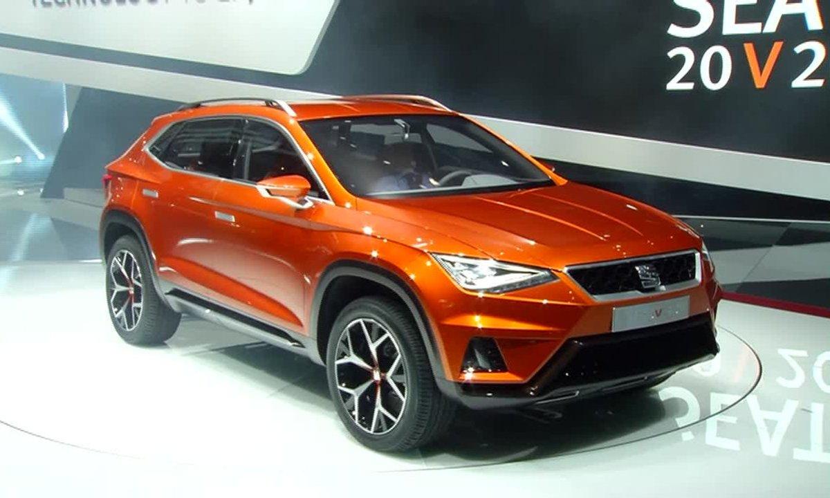 Salon de Genève 2015 : le concept-car SEAT 20V20 illustre le futur SUV