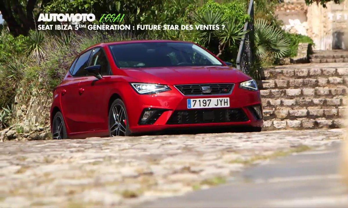 Essai : La SEAT Ibiza 5 s'attaque aux Renault Clio et Peugeot 208