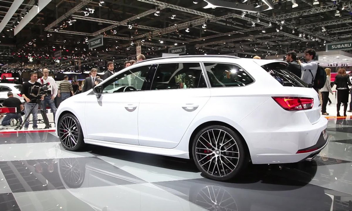 La SEAT Leon Cupra ST déménage sport au Salon de Genève 2015
