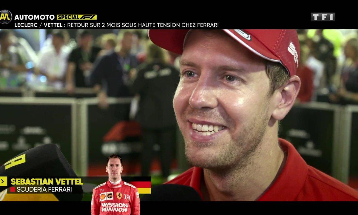 Leclerc vs Vettel : retour sur 2 mois sous haute tension chez Ferrari