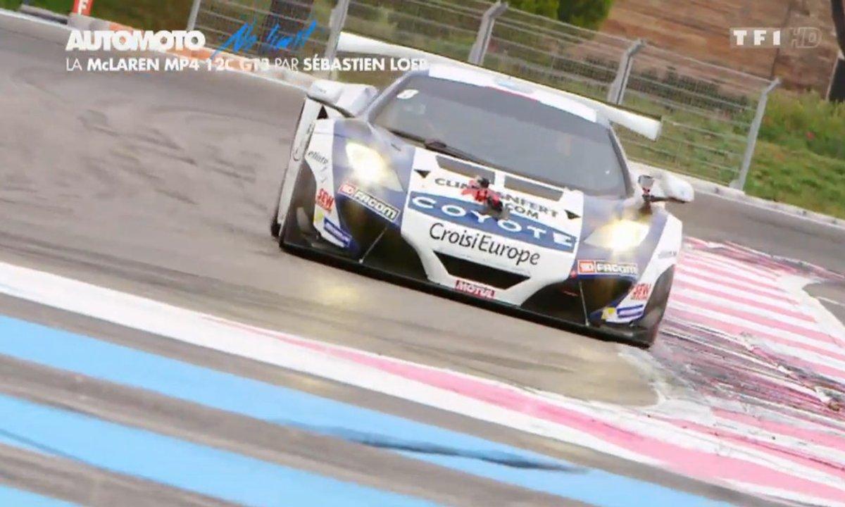 No limit : Sébastien LOEB en McLaren MP4 12C GT3 !