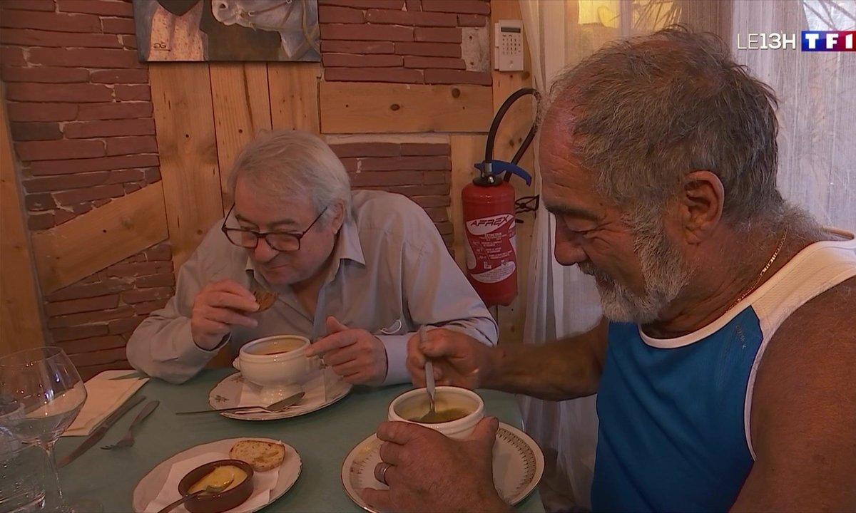 Semaine du goût : la dégustation d'une soupe de poisson dans le Var