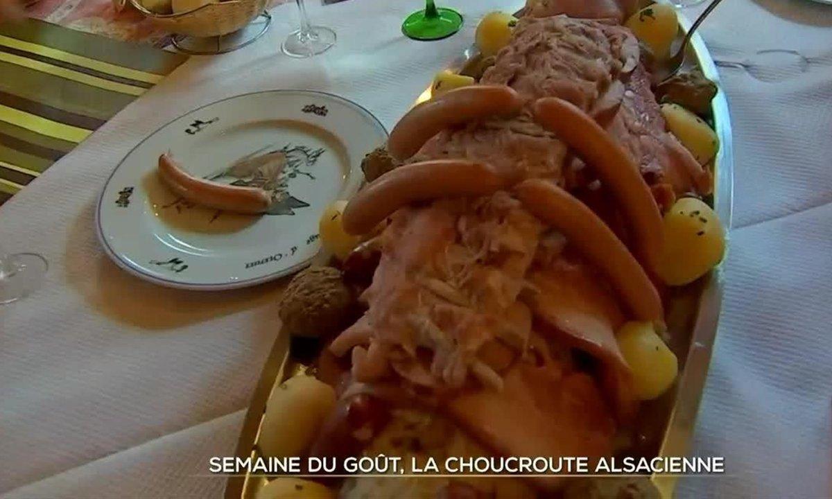 Semaine du goût : la recette de la choucroute alsacienne