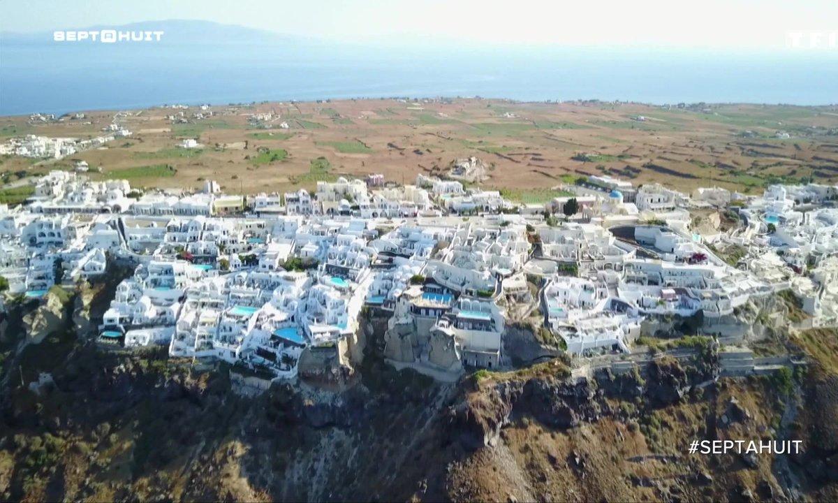 SEPT À HUIT - À la découverte du palace des Cyclades en Grèce