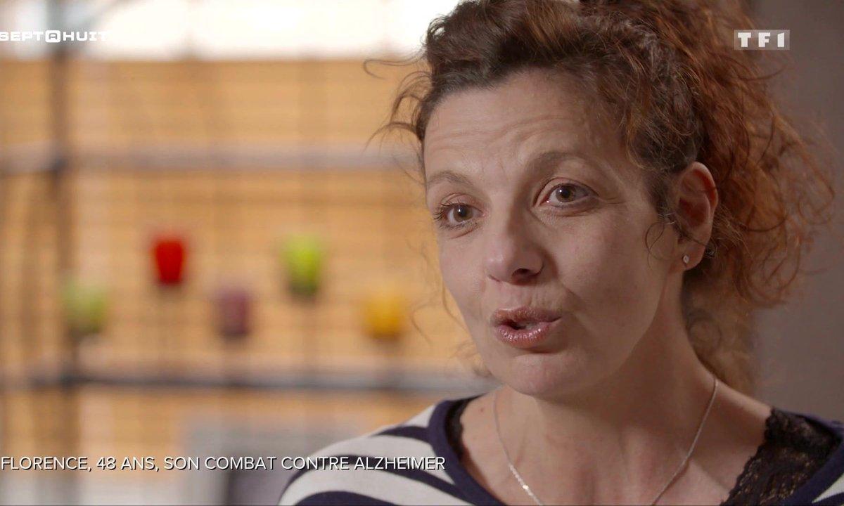 SEPT À HUIT - Florence raconte son combat contre la maladie d'Alzheimer