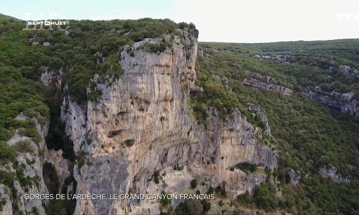 SEPT À HUIT LIFE - Les gorges de l'Ardèche, le Grand Canyon français
