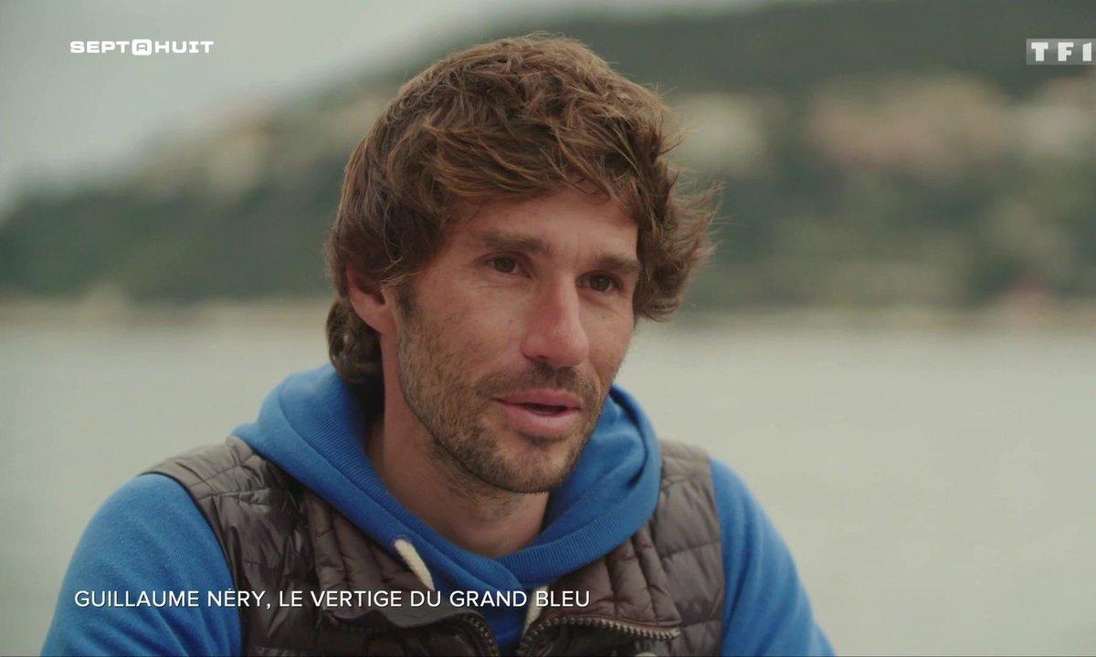 SEPT À HUIT - Guillaume Nery, le vertige du grand bleu