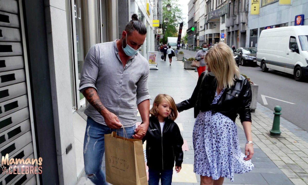 Shopping bébé pour Stéphanie, Eric et Lyam