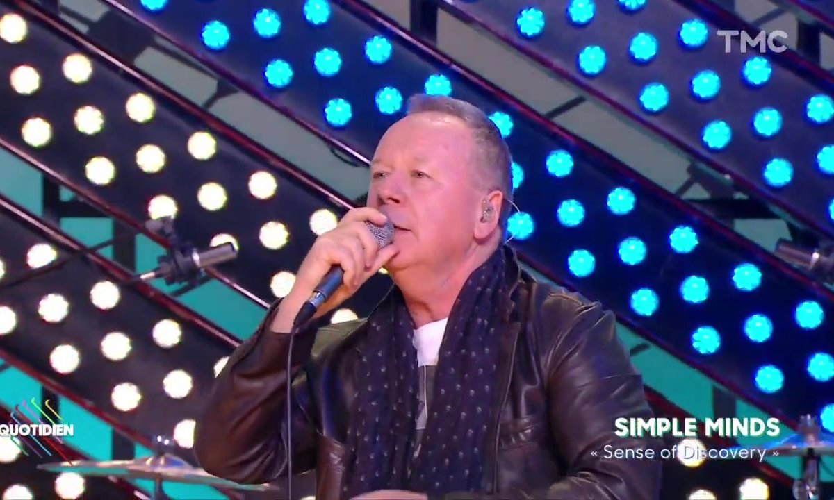 "Simple Minds : ""Sense of discovery"" en live dans Quotidien"