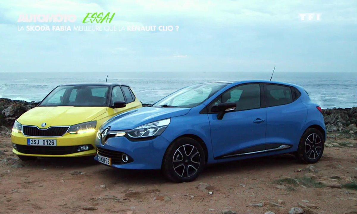 Essai vidéo : Quand la Skoda Fabia défie la Renault Clio